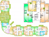 "Схема квартиры в проекте ""Горизонт""- #142949231"