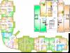 "Схема квартиры в проекте ""Горизонт""- #587685805"