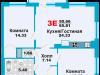 """Схема квартиры в проекте """"Город счастья""""- #1202812979"""