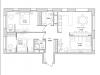 "Схема квартиры в проекте ""Грани""- #1367855427"