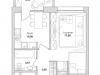 "Схема квартиры в проекте ""Грани""- #935350037"