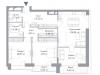 "Схема квартиры в проекте ""Hill 8""- #98941121"