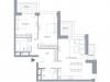 "Схема квартиры в проекте ""Hill 8""- #113375722"