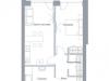 "Схема квартиры в проекте ""Hill 8""- #523874906"