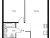 "Схема квартиры в проекте ""Holland park""- #835155085"