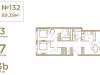 "Схема квартиры в проекте ""I'M (Ай Эм)""- #520844520"