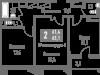"Схема квартиры в проекте ""Измайлово Lane""- #1190032901"