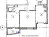 """Схема квартиры в проекте """"Изумрудные холмы""""- #683036002"""