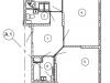 """Схема квартиры в проекте """"Изумрудные холмы""""- #335264179"""