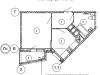 """Схема квартиры в проекте """"Изумрудные холмы""""- #497778603"""