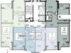 """Схема квартиры в проекте """"Катюшки-2""""- #1342414205"""