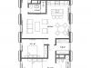 """Схема квартиры в проекте """"Cvet 32 (Цвет 32)""""- #1522263413"""