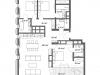 """Схема квартиры в проекте """"Cvet 32 (Цвет 32)""""- #1463637099"""