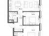 """Схема квартиры в проекте """"Cvet 32 (Цвет 32)""""- #162783436"""