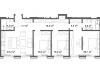 """Схема квартиры в проекте """"Cvet 32 (Цвет 32)""""- #1772739558"""
