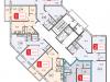 """Схема квартиры в проекте """"Кокошкино""""- #1484082680"""