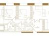 """Схема квартиры в проекте """"Композиция №24""""- #948830919"""