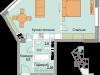"""Схема квартиры в проекте """"Красный Кит""""- #663944263"""