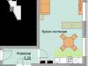"""Схема квартиры в проекте """"Красный Кит""""- #1611832343"""