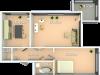 """Схема квартиры в проекте """"Кристалл-Хаус""""- #767765798"""