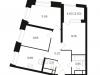 "Схема квартиры в проекте ""КутузовGrad II""- #691656640"
