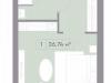 "Схема квартиры в проекте ""La Rue""- #715948220"