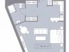 "Схема квартиры в проекте ""La Rue""- #1068742428"