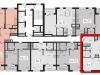 """Схема квартиры в проекте """"L'Club""""- #224264832"""