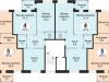 """Схема квартиры в проекте """"Лесная сказка""""- #1272118811"""