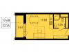 """Схема квартиры в проекте """"Лесопарковый""""- #779475381"""