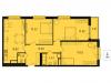 """Схема квартиры в проекте """"Лесопарковый""""- #1036701215"""