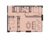 """Схема квартиры в проекте """"Level Павелецкая (Левел Павелецкая)""""- #1425033781"""