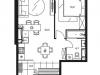 "Схема квартиры в проекте ""Level Стрешнево""- #877483435"