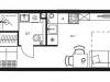 "Схема квартиры в проекте ""Level Стрешнево""- #731414569"
