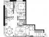 "Схема квартиры в проекте ""Level Стрешнево""- #1837988338"