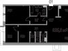 """Схема квартиры в проекте """"Литератор""""- #563549417"""