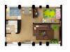 "Схема квартиры в проекте ""Loft 17 (Лофт 17)""- #849891746"