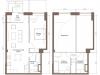 "Схема квартиры в проекте ""Loft Park (Лофт парк)""- #121141034"