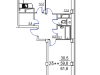 "Схема квартиры в проекте ""Лукино-Варино""- #1141775107"