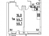 "Схема квартиры в проекте ""Лукино-Варино""- #22658761"