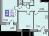"Схема квартиры в проекте ""Лукино""- #357977756"