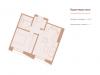 """Схема квартиры в проекте """"Медный 3.14""""- #1198233769"""