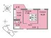 "Схема квартиры в проекте ""Мичурино-Запад""- #141174218"
