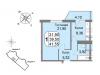 "Схема квартиры в проекте ""Мичурино-Запад""- #1129855135"