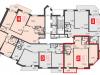 """Схема квартиры в проекте """"Мичуринский""""- #826491799"""