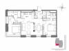 """Схема квартиры в проекте """"Mono dom (Моно дом)""""- #1882260415"""