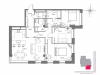 """Схема квартиры в проекте """"Mono dom (Моно дом)""""- #1840811930"""