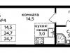 """Схема квартиры в проекте """"Мята""""- #1902606909"""