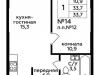 """Схема квартиры в проекте """"Мята""""- #384717719"""