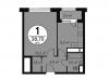 "Схема квартиры в проекте ""на Абрамцевской""- #580291549"